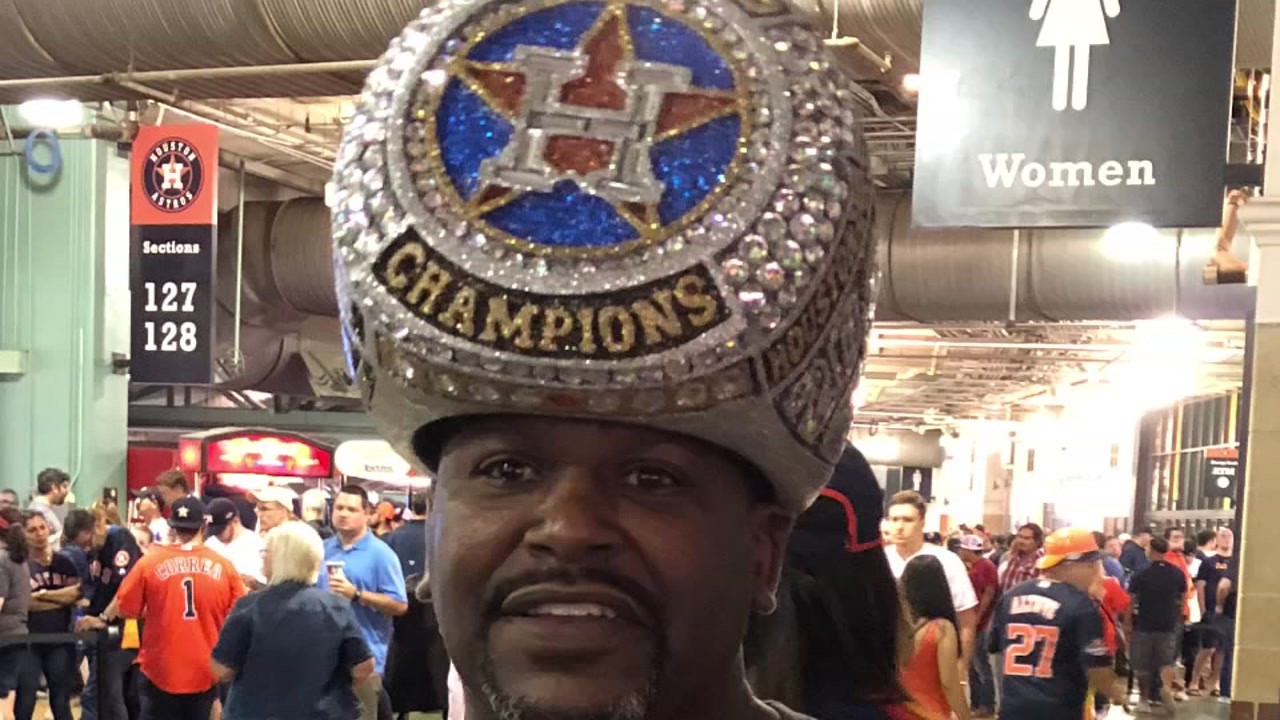Custom championship ring hat is one-of-a-kind