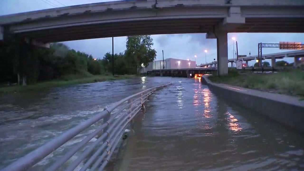 Work is already underway for flood control projects