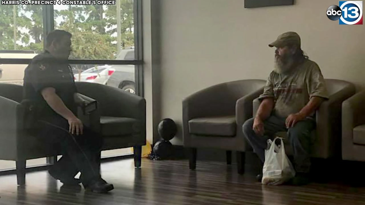 Constable deputy offers to help give homeless man fresh start