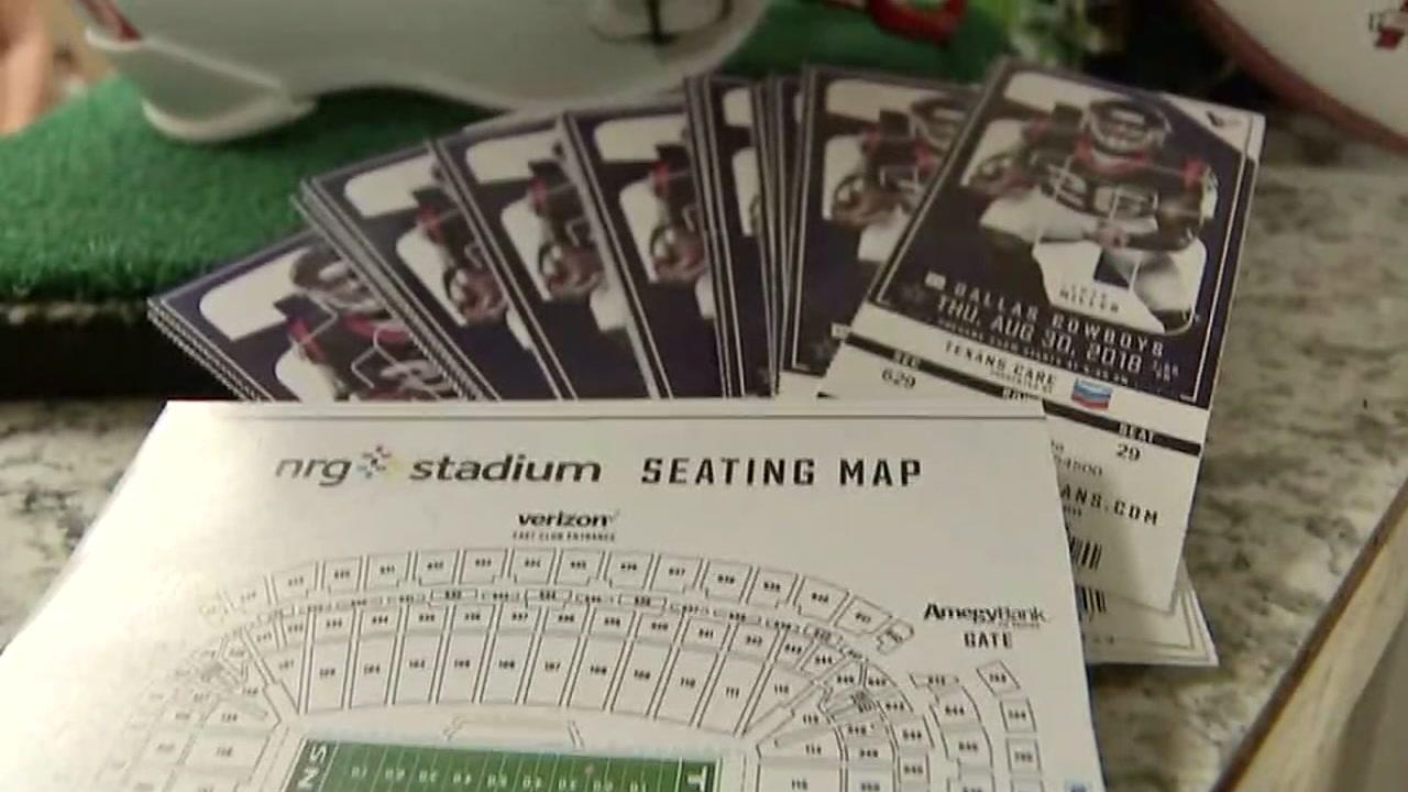 Texans ticket sales looking good so far