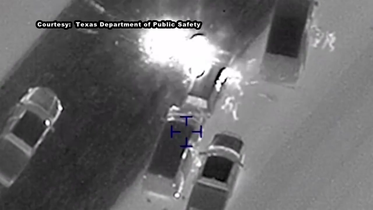 DPS video of the Austin bomber suspects car exploding