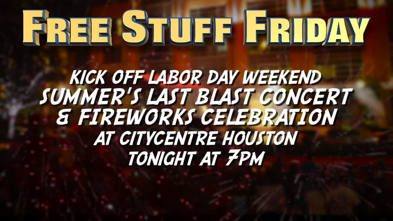 Heres a list of FREE things to do around Houston this Labor Day weekend.