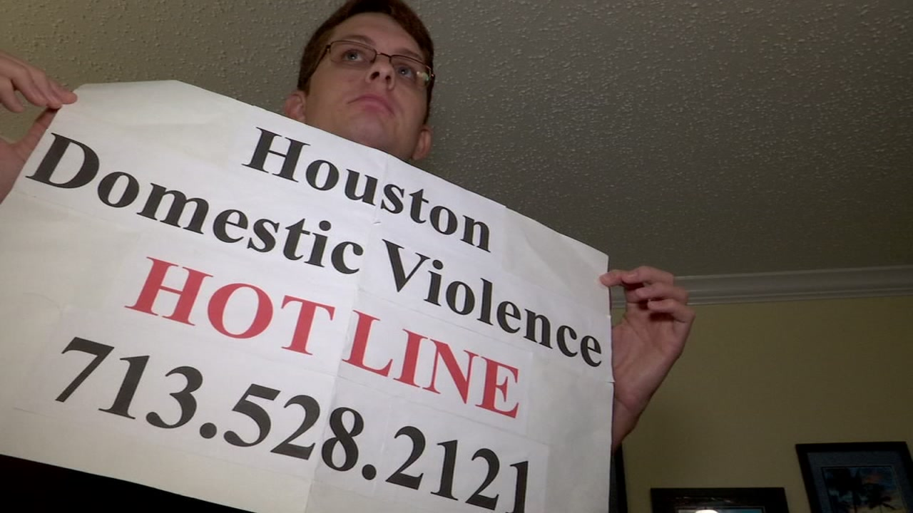 Houston Astros fan Kevin Jukkola was kicked out of a baseball game over his domestic violence sign.