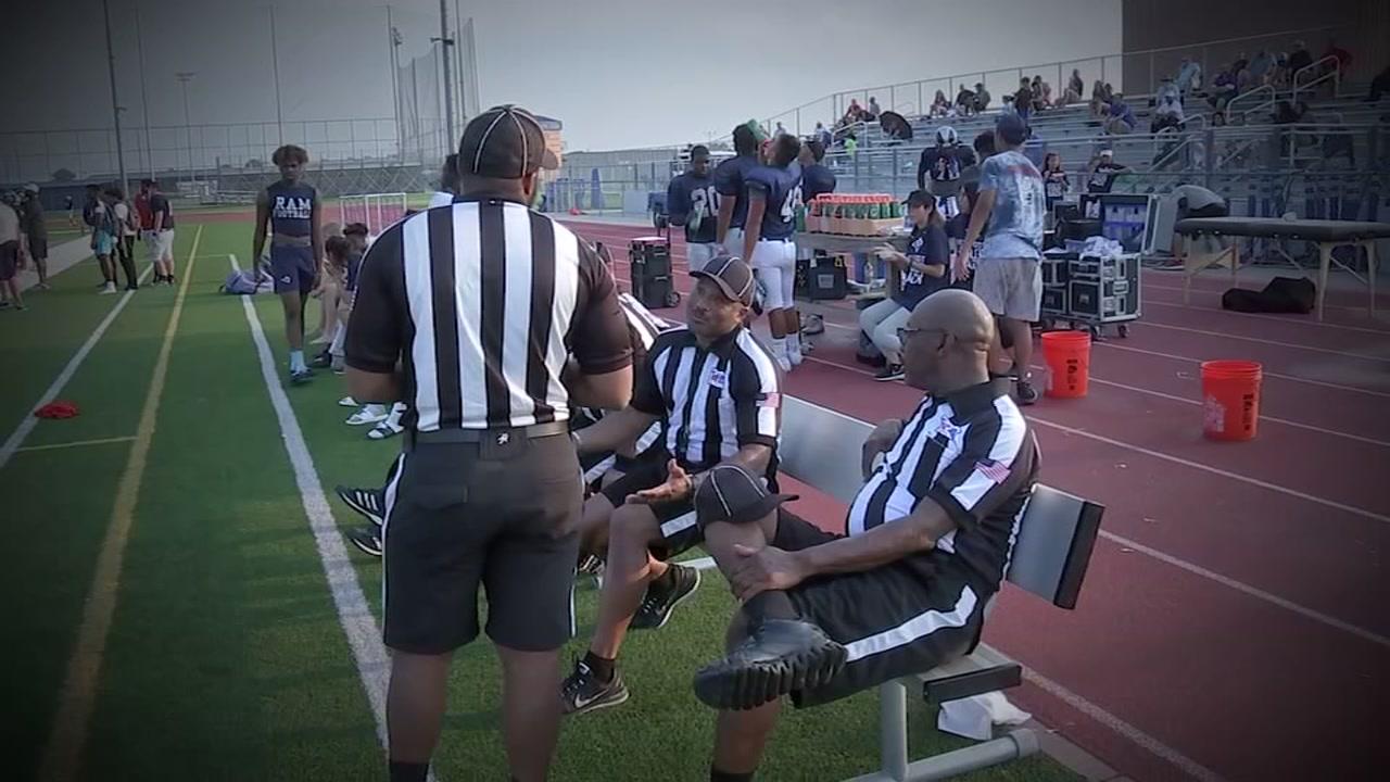 A referee shortage is threatening high school football.