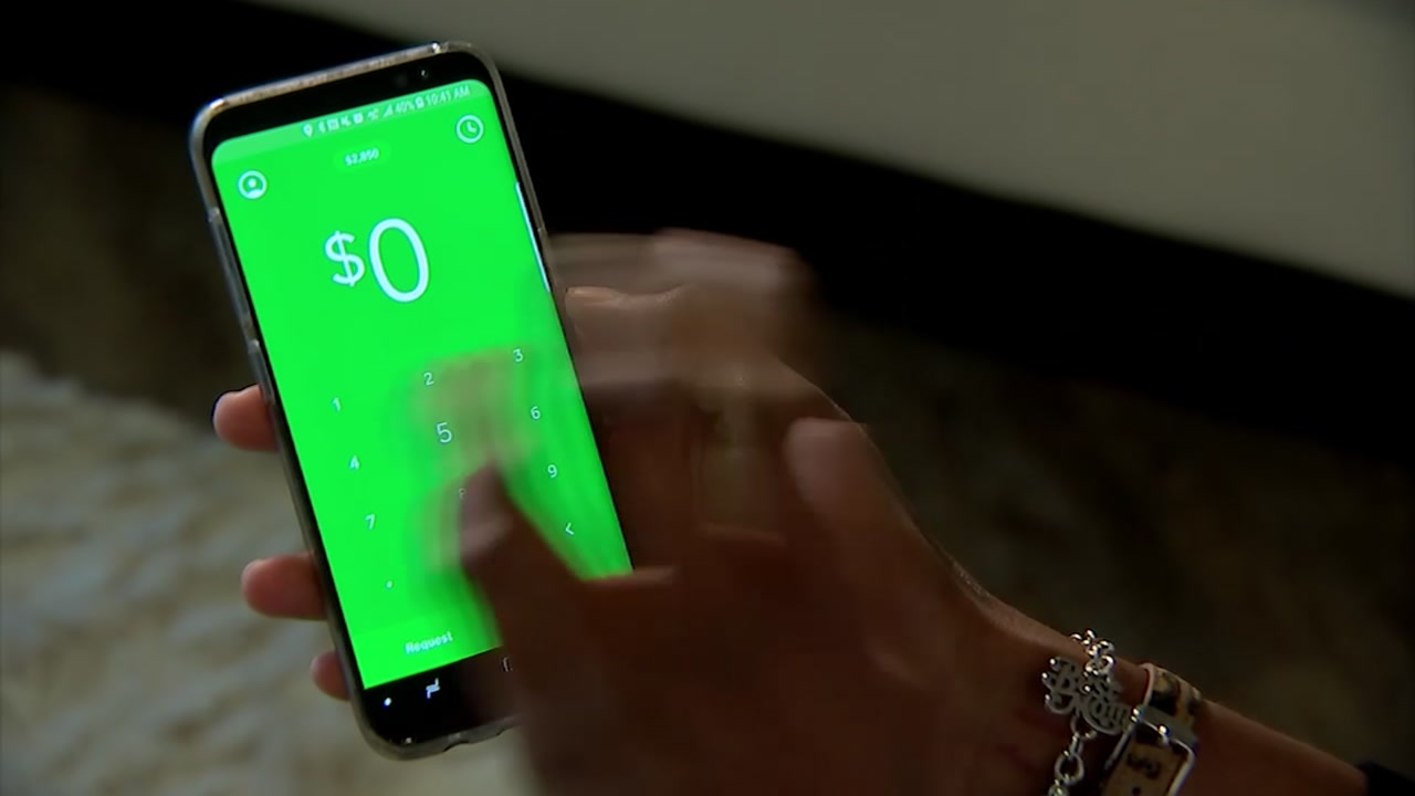 A screen shot of the Cash App.