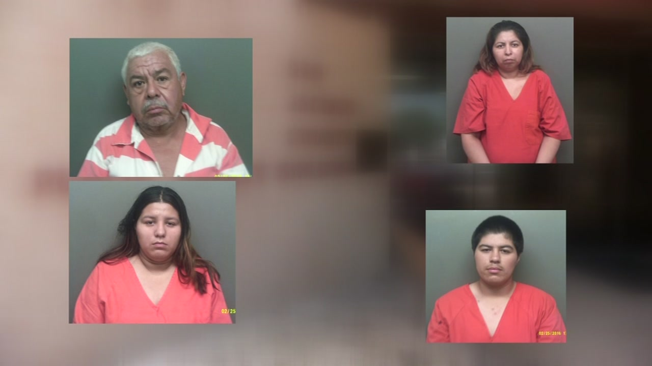 Authorities in San Jacinto County arrest 4 in meth raid