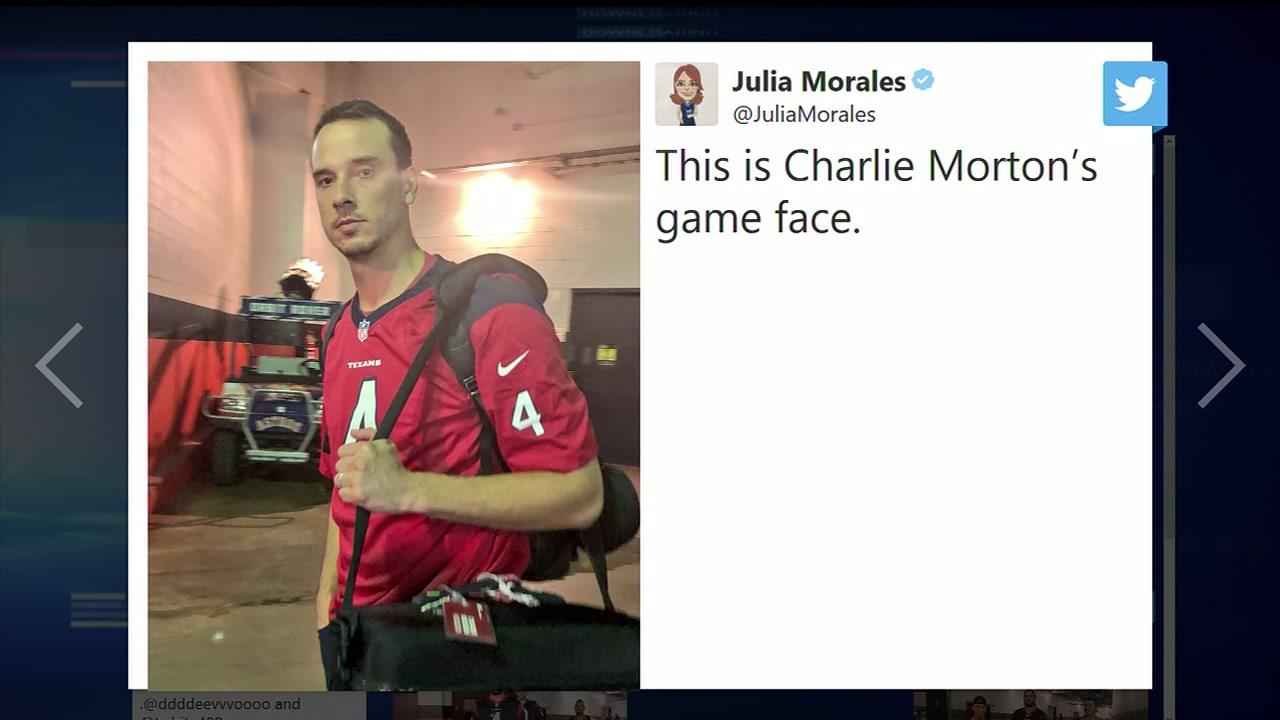 Houston Astros sport NFL jerseys ahead of road trip