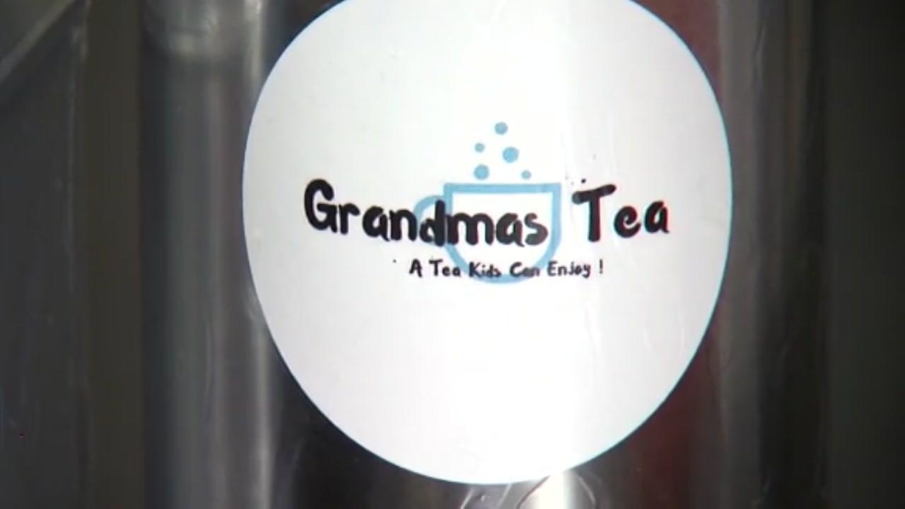 Fourth grader runs her own tea company in Kansas City.