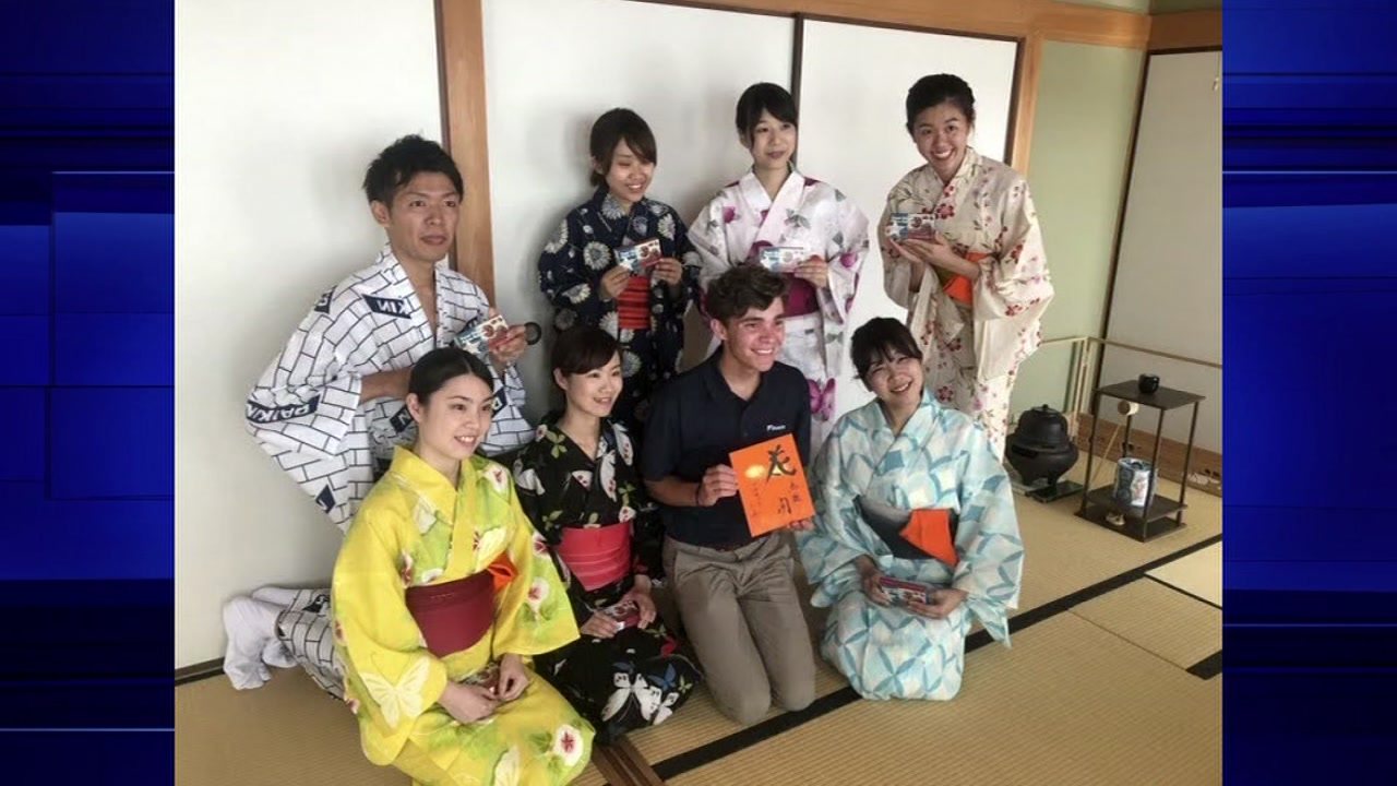 Four Waller High School students had the chance to participate in a unique exchange program in Japan.