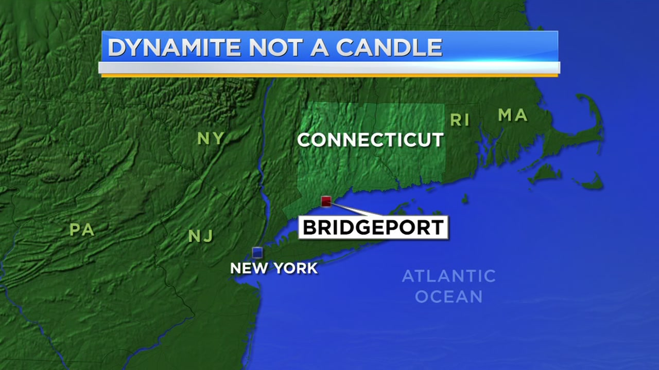 Woman seriously injured after mistaking dynamite for candle