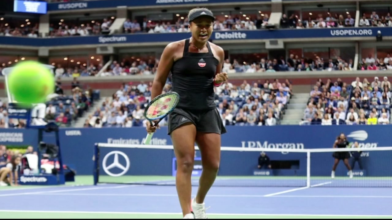 Naomi Osaka wins US Open title after Serena Williams penalized in final