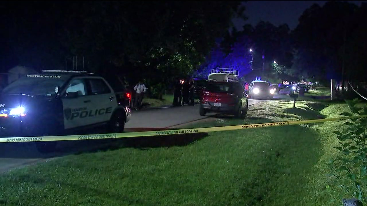 Man found shot and killed on his front lawn in north Houston