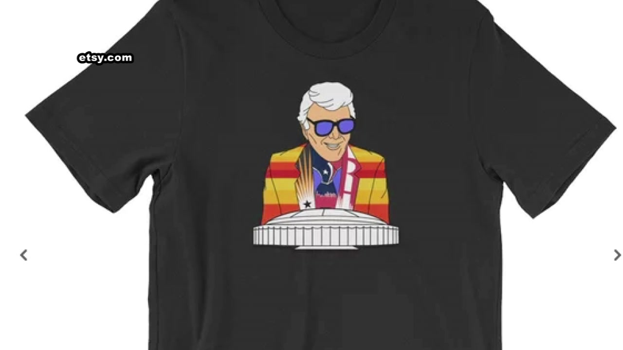 A new T-shirt is honoring a Houston icon.