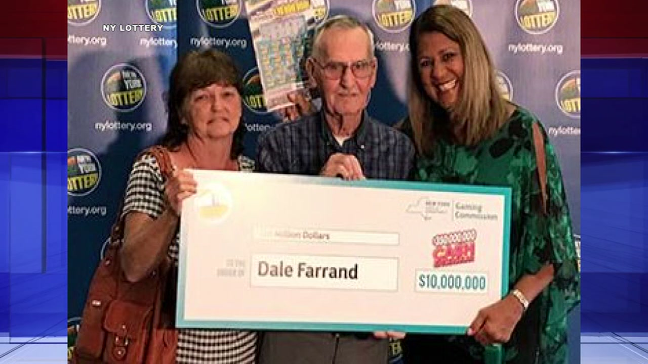 Man win $10 million while buying dog treats