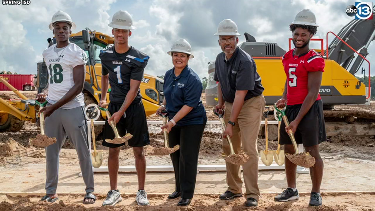 Spring ISD breaks ground on new 8,000-seat stadium