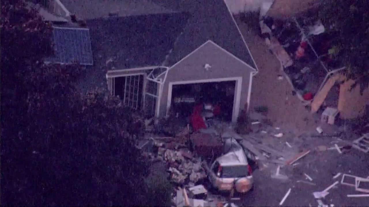 Gas explosions kill 1 and injure at least 10 other people in Massachusetts