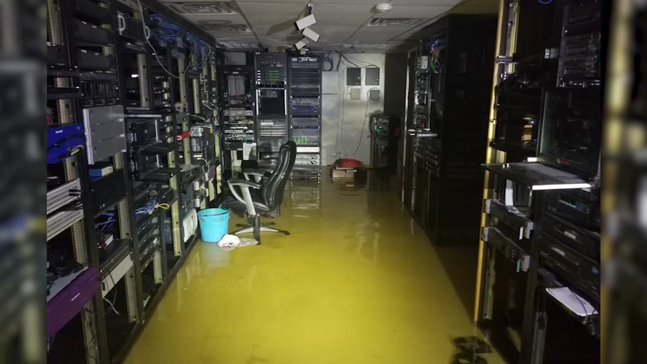 North Carolina TV station evacuates because of rising water