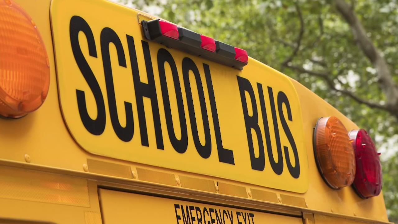 Hempstead ISD school bus in accident