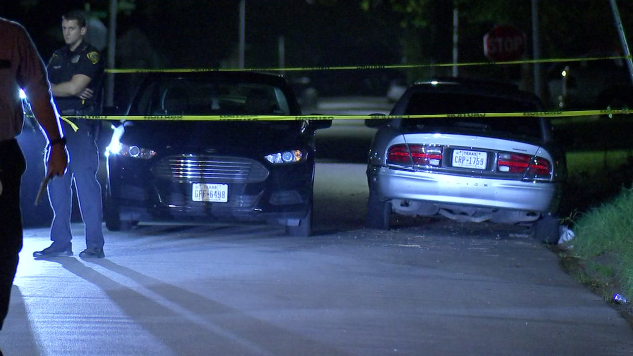 Police say a suspect shot a man over $20.