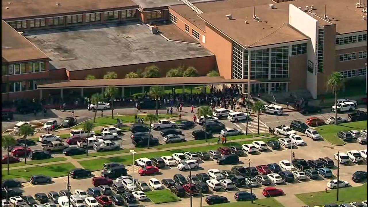 Student arrested after gun found at Ball High School
