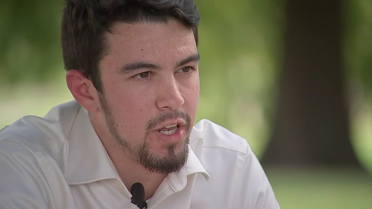 ABC13s Nick Natario speaks exclusively with the former UH student who says he nearly died because of hazing.