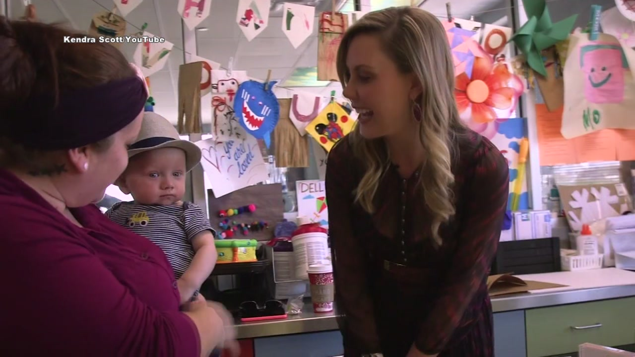 Kendra Scott visits young hospital patients