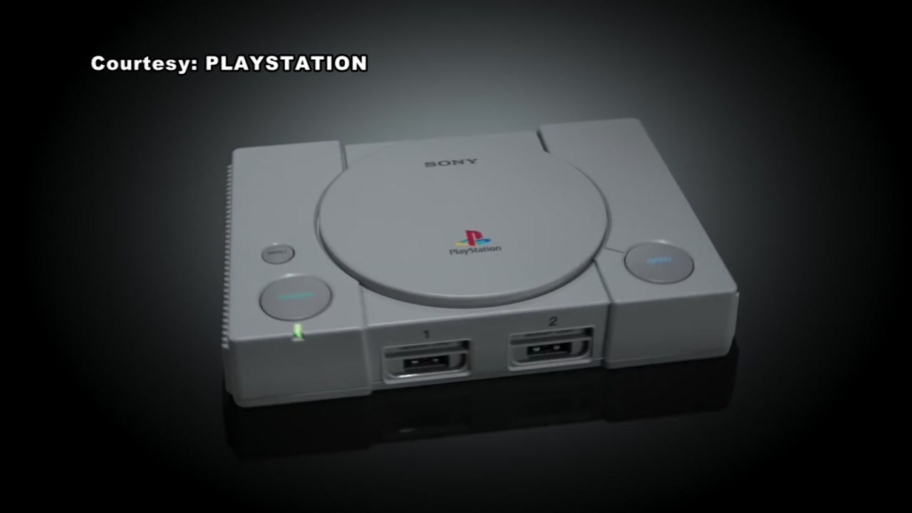 Sony Playstation releasing mini version of its original console