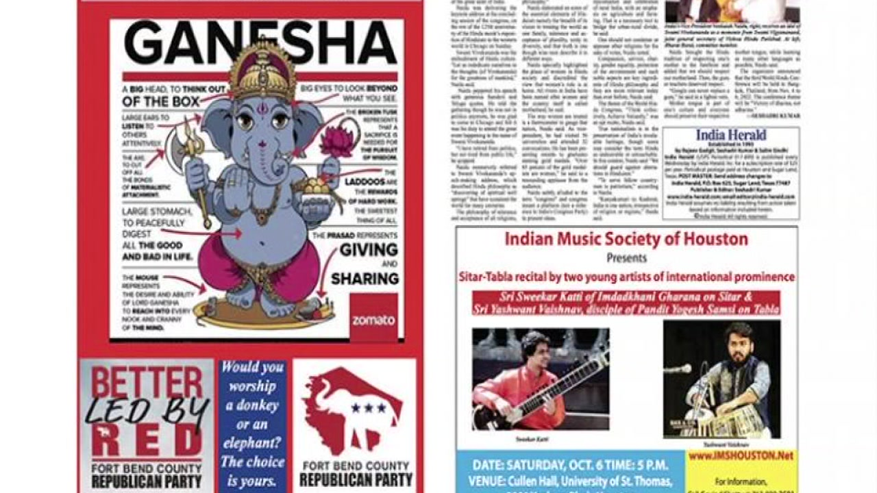 Hindu American Foundation upset by Ft. Bend GOP ad