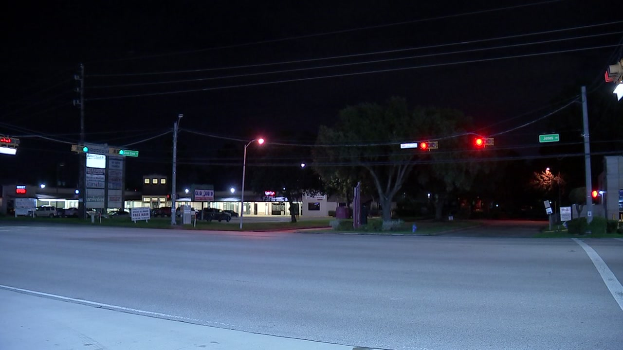 A 3-year-old was hit by a car in northwest Harris County.