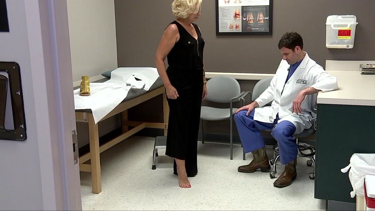 Medical breakthrough helps woman crippled by arthritis wear heels again