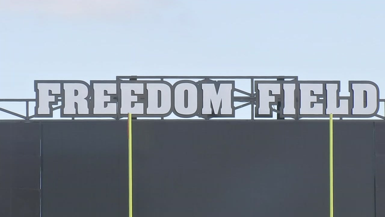 SkyDrone went to check out Alvin ISDs brand new Freedom Field for our Game of the Week.