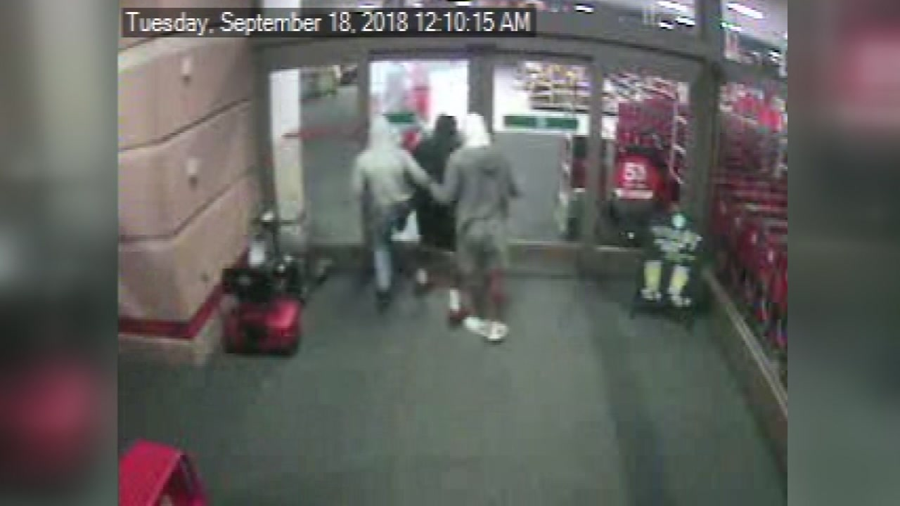 Target robbery
