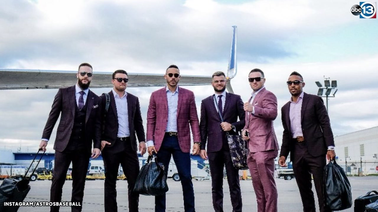 Astros jet in style to wind down season on the road