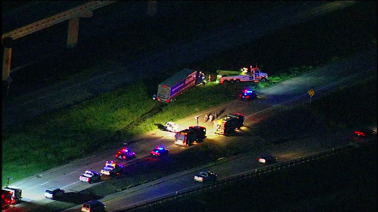 Deadly accident involving 18-wheeler on Highway 290