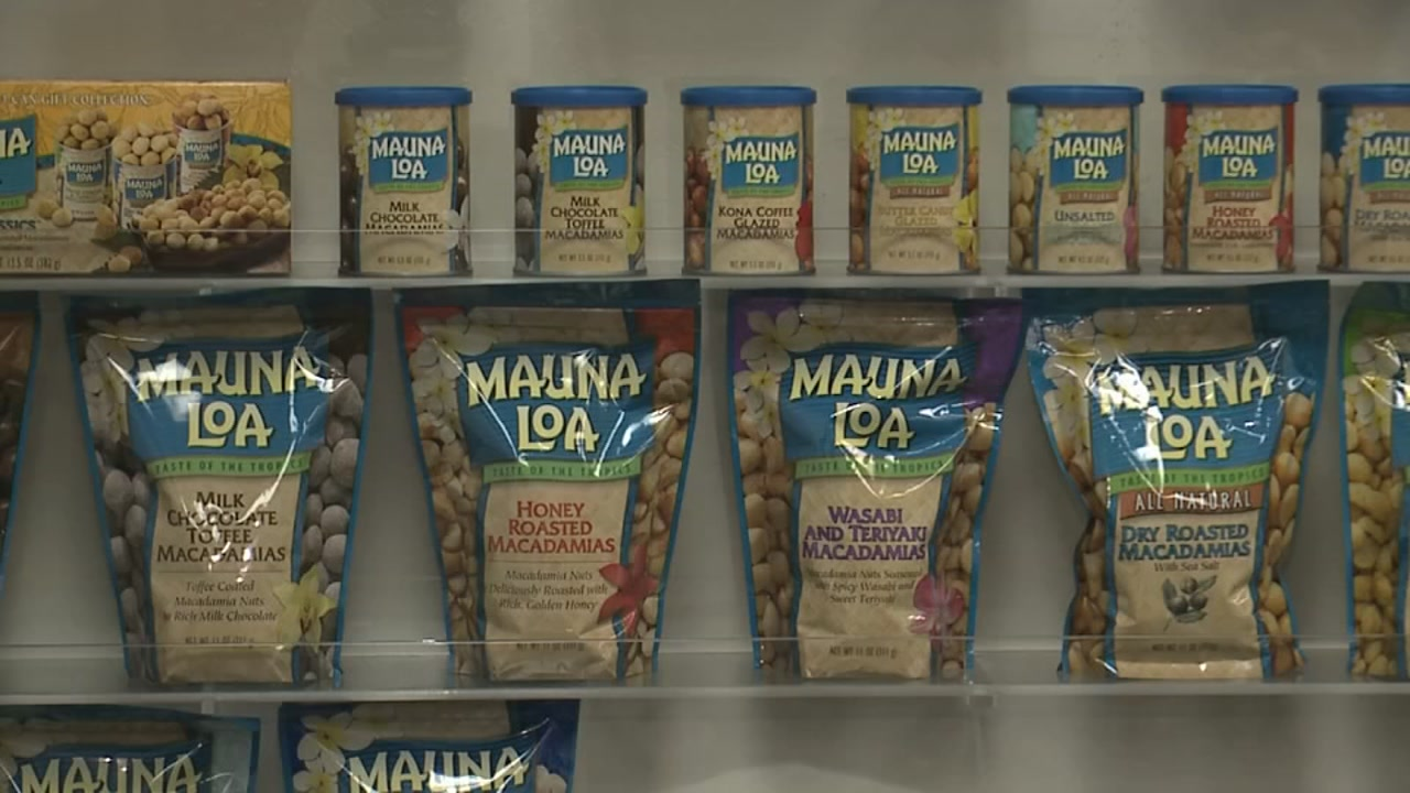 Macadamia nuts recalled over possible E-coli contamination