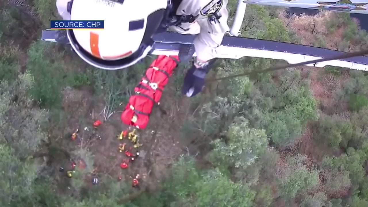 Woman rescued after 3 days in ravine