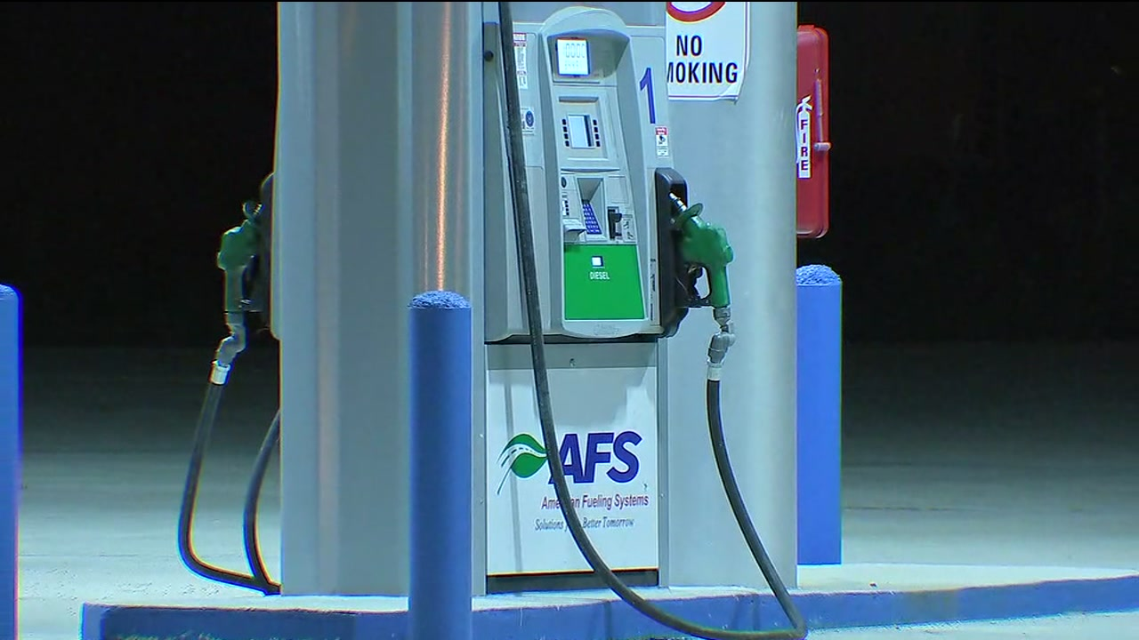 Thieves caught stealing fuel in SE Houston