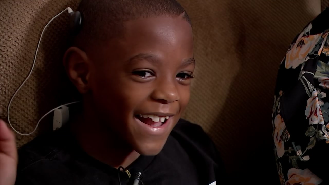 Student with special hearing needs turns to Ted