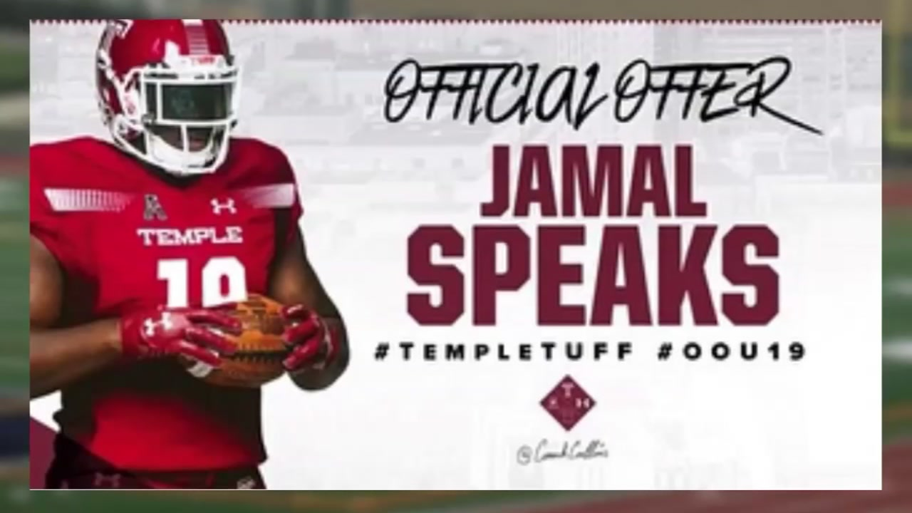 Jamal Speaks is working to find a permanent home after residency concerns prevented him from playing football.