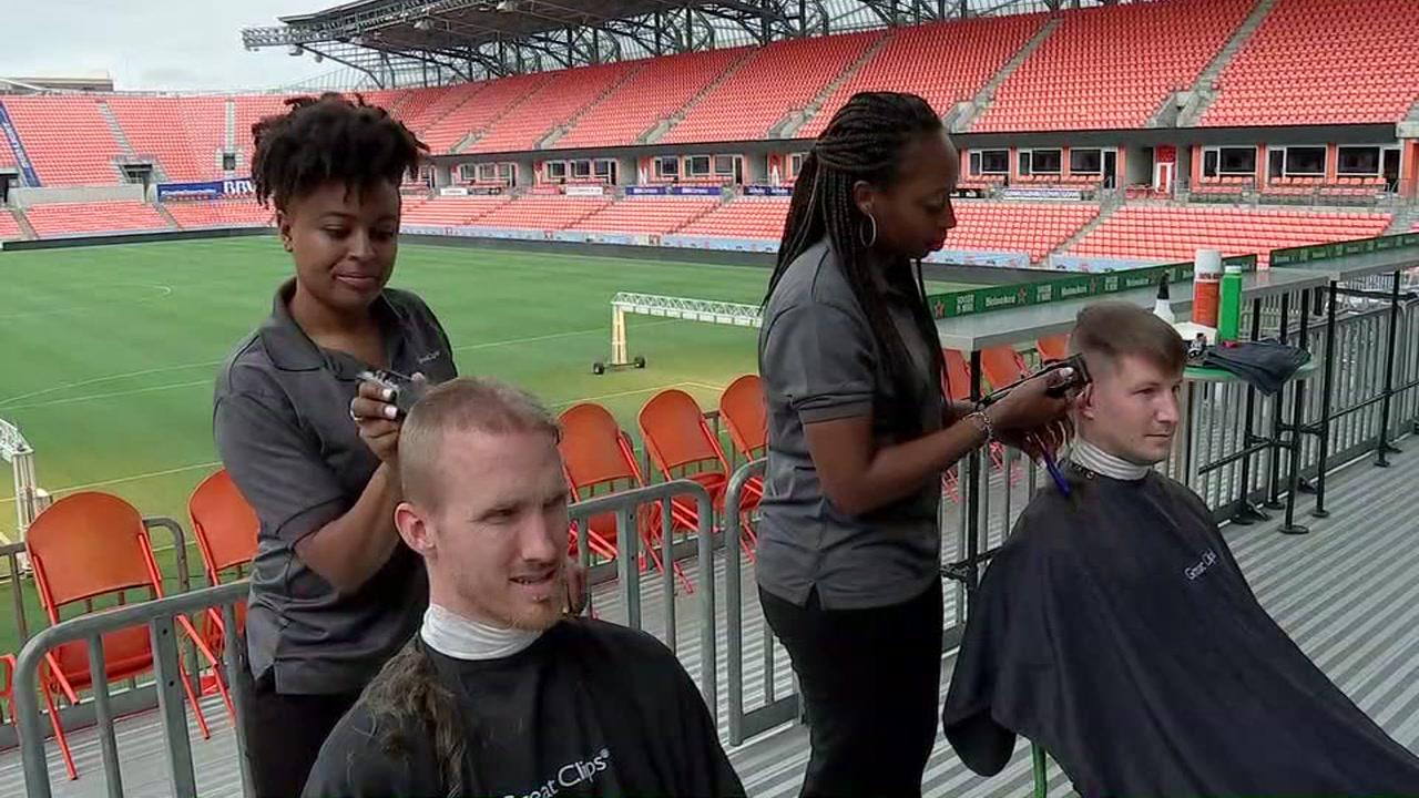 Dynamo defender Jared Watts signature hair is no more, but for good reason.