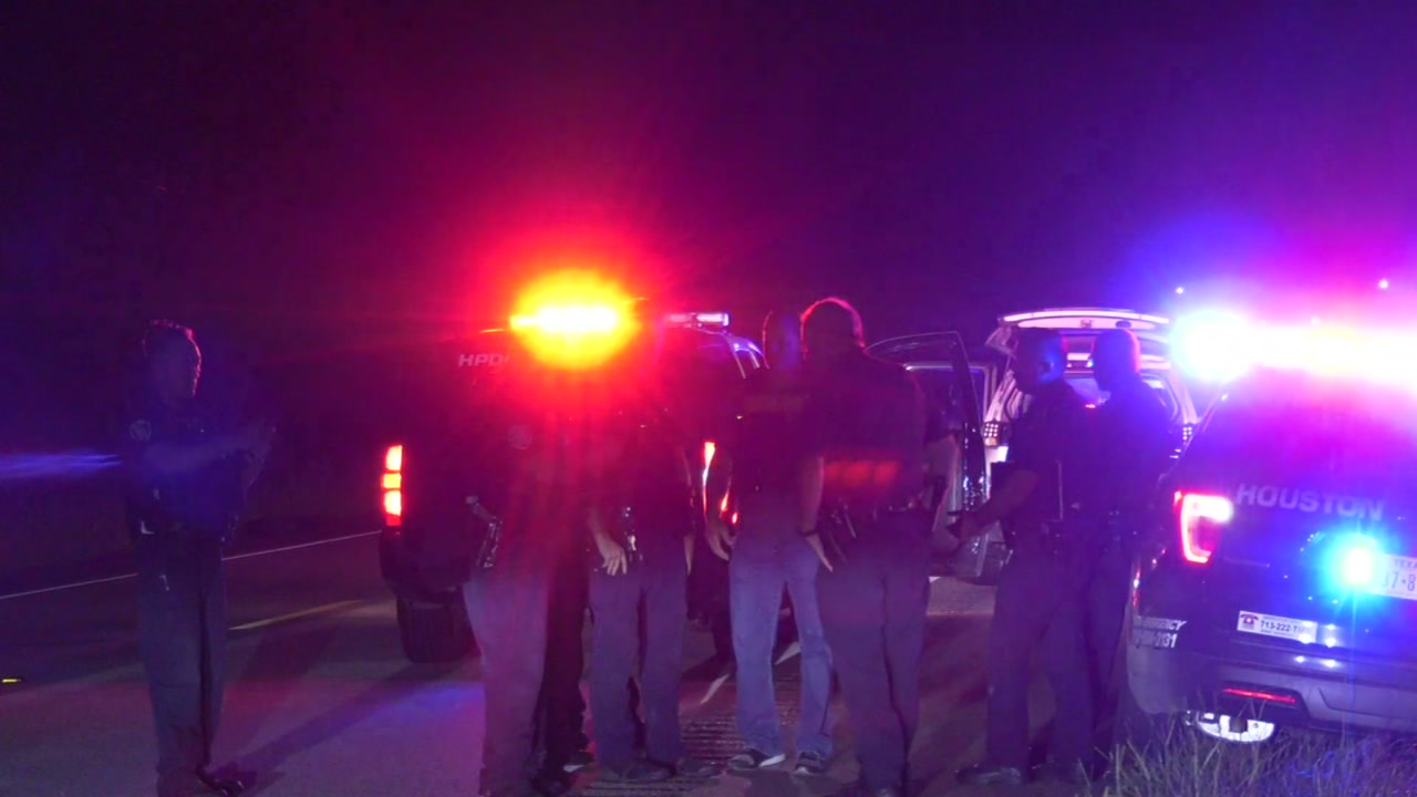 Houston police say 2 15 year olds were arrested after leading police on a chase.