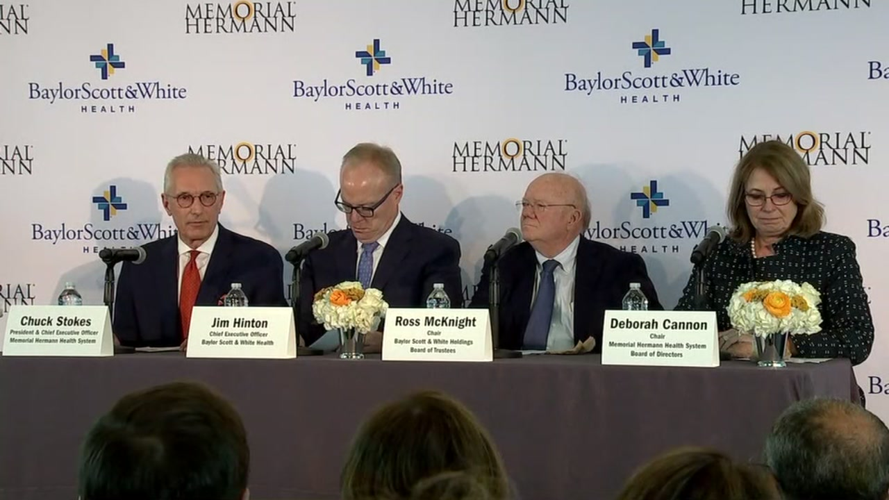 Memorial Hermann and Baylor Scott and White Health create combined health system