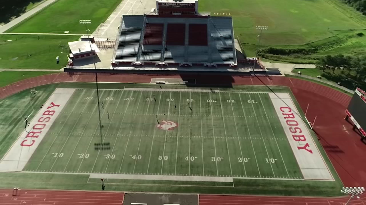 Take a look at Crosby ISDs Cougar Stadium.