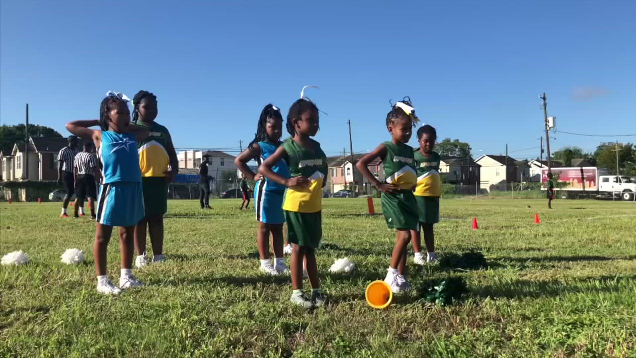Good Hope Missionary Baptist Church transformed this vacant lot into a football field overnight.