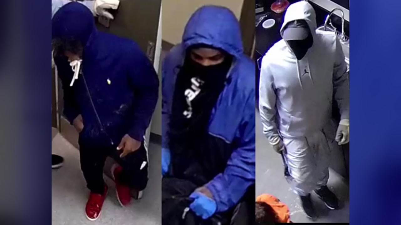 Masked men assault cleaning crew during robbery at Verizon