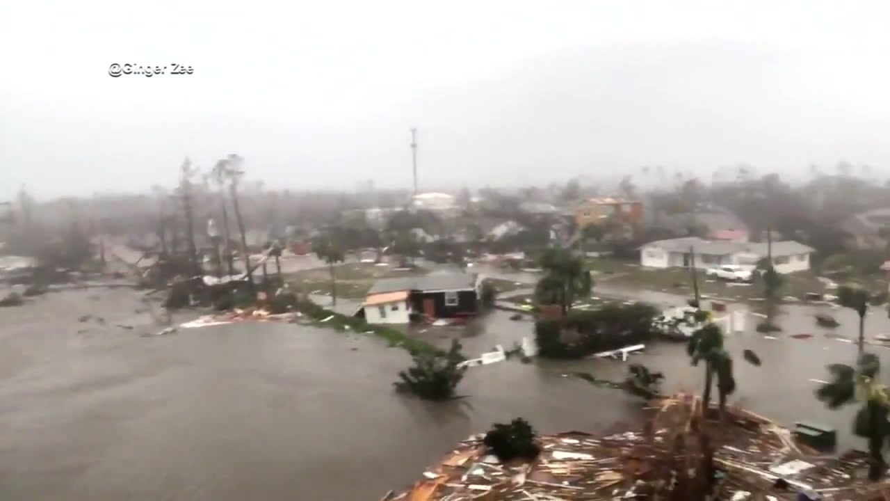 At least 2 deaths reported after Hurricane Michael slams the Gulf Coast
