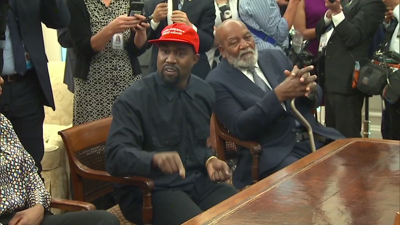 Kanye West discussed his support for President Trump.