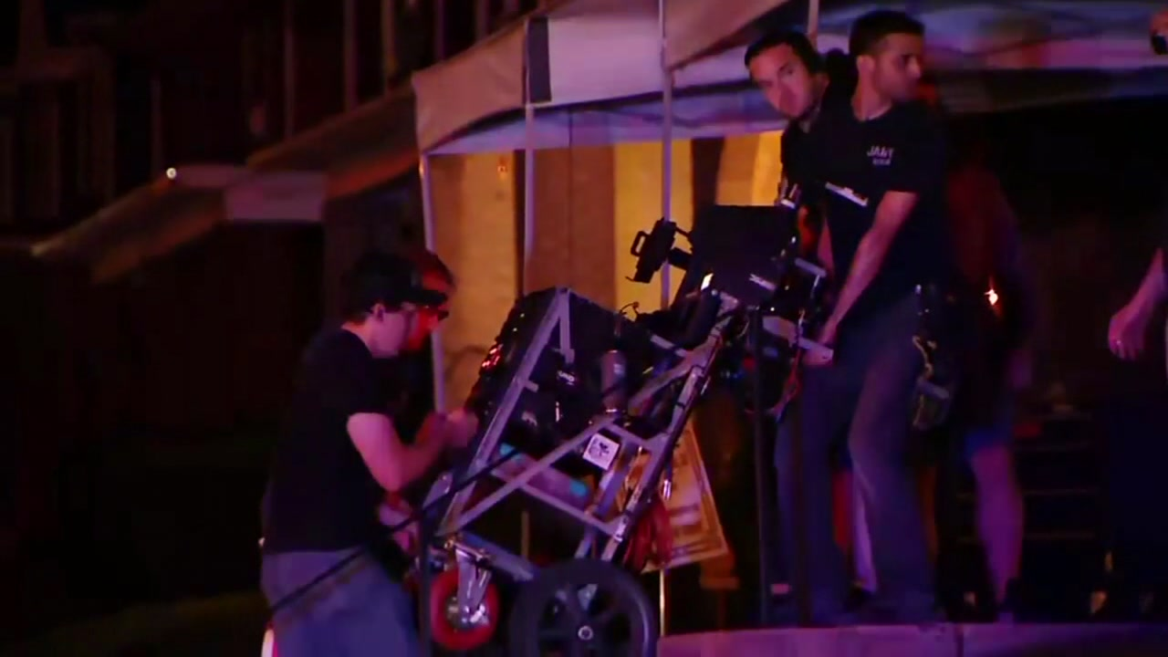 Man in critical condition after movie set accident
