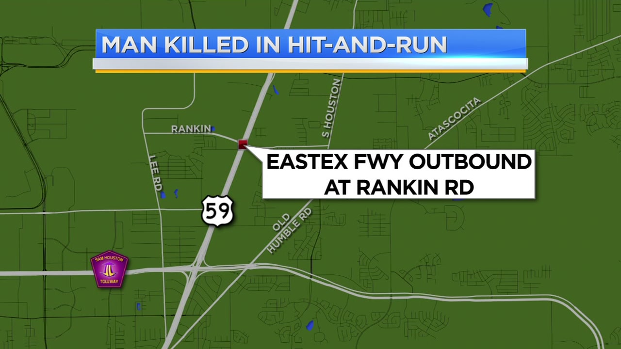 Wrong-way driver killed in crash, passenger ejected on Eastex Freeway.
