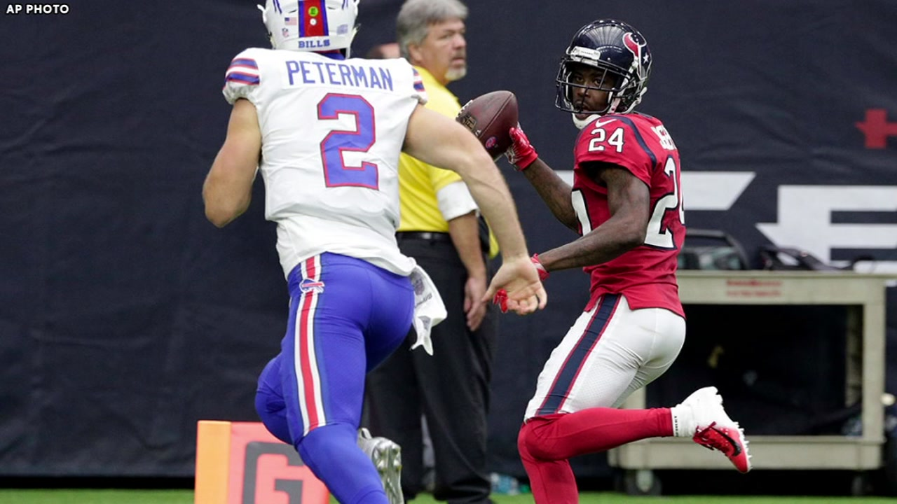 TEXANS WIN! Jonathan Josephs pick-6 beats Buffalo Bills